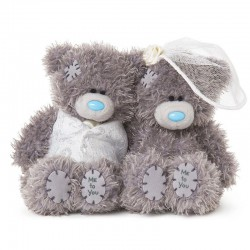 ME TO YOU WEDDING BEARS 10 CM