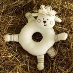 SLEEPY SHEEPY ROUND RATTLE